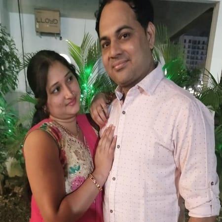 Happy tiwari and lovely tiwari