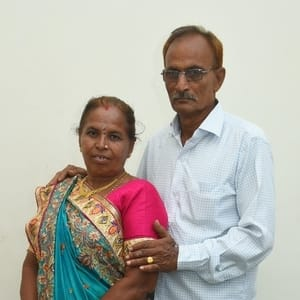 Bhartbhai and Amrutben