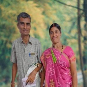 Bhagvanbhai And parvatiben